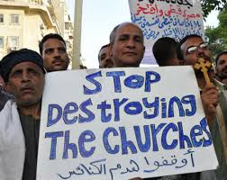 stop destorying coptic churches