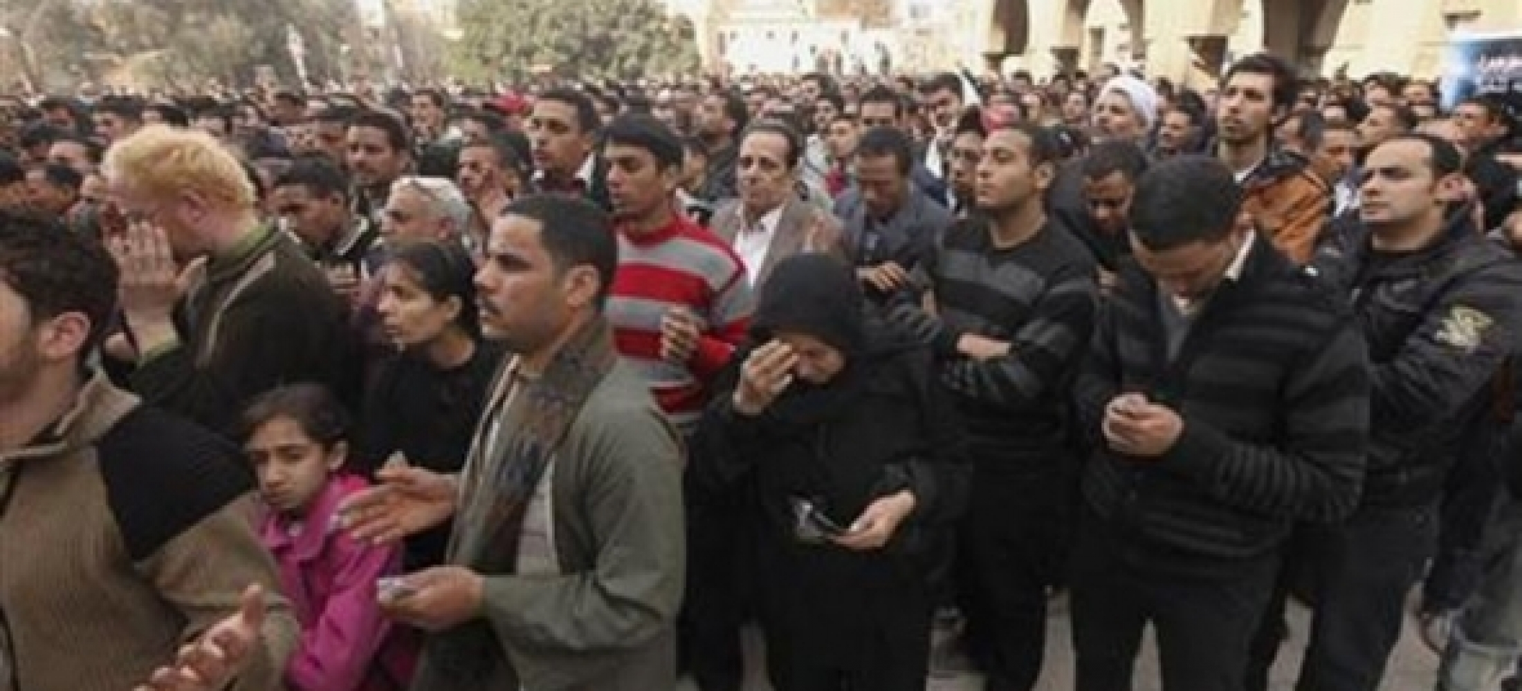 Egypts Copts Fume As Elderly Christian Woman Paraded